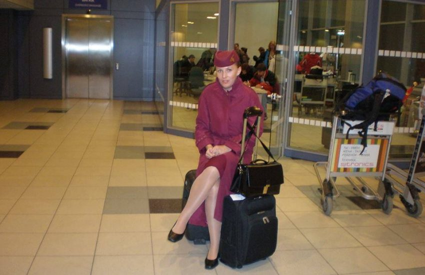 qatar stewardess