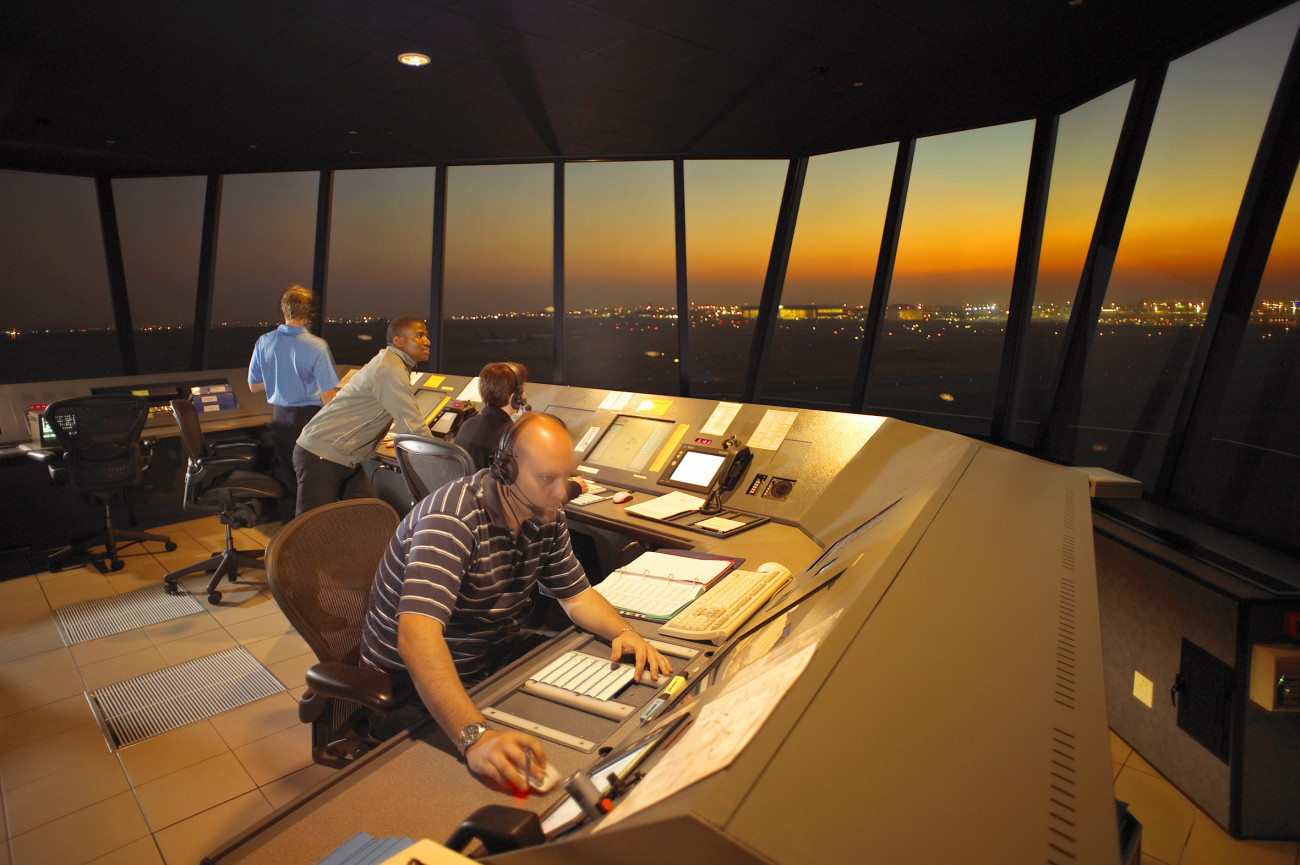 from cabin crew to air traffic controller