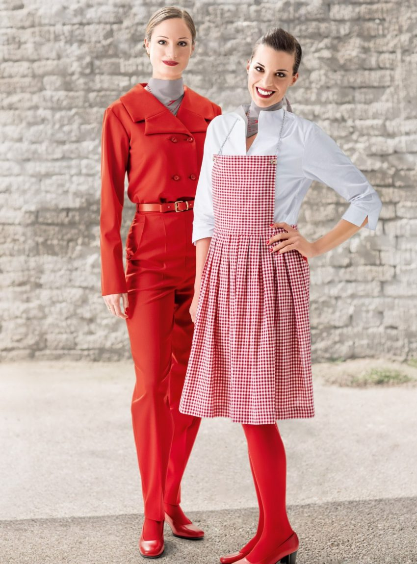 Cabin crew style: new uniforms for Austrian Airlines - How ...
