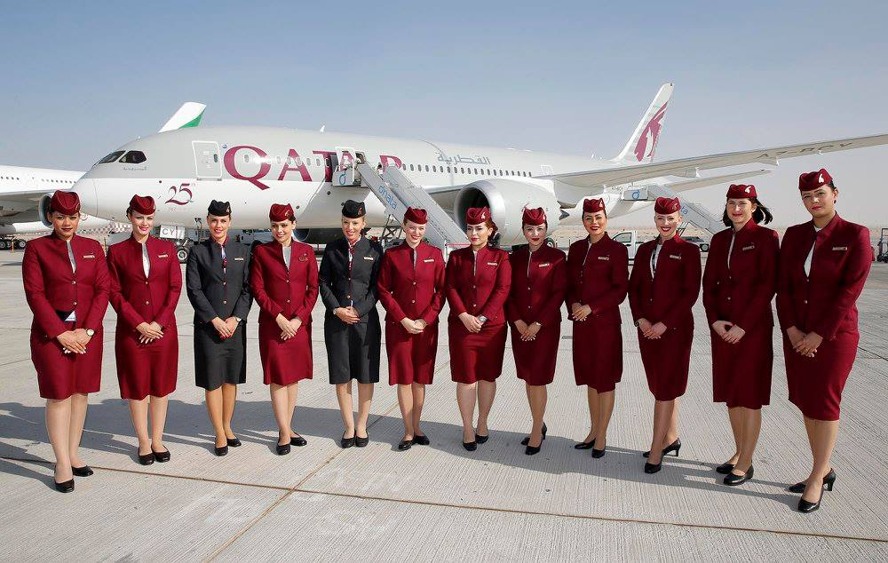 qatar airways is hiring cabin crew in rome this march