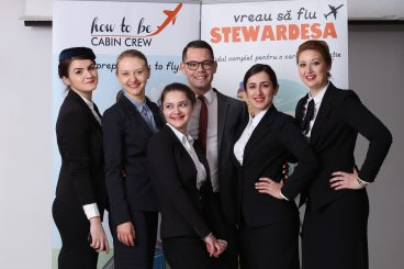 How to be cabin crew 4 day course in Romania