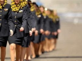 Cabin Crew 2Excel Aviation London Stansted Airport UK