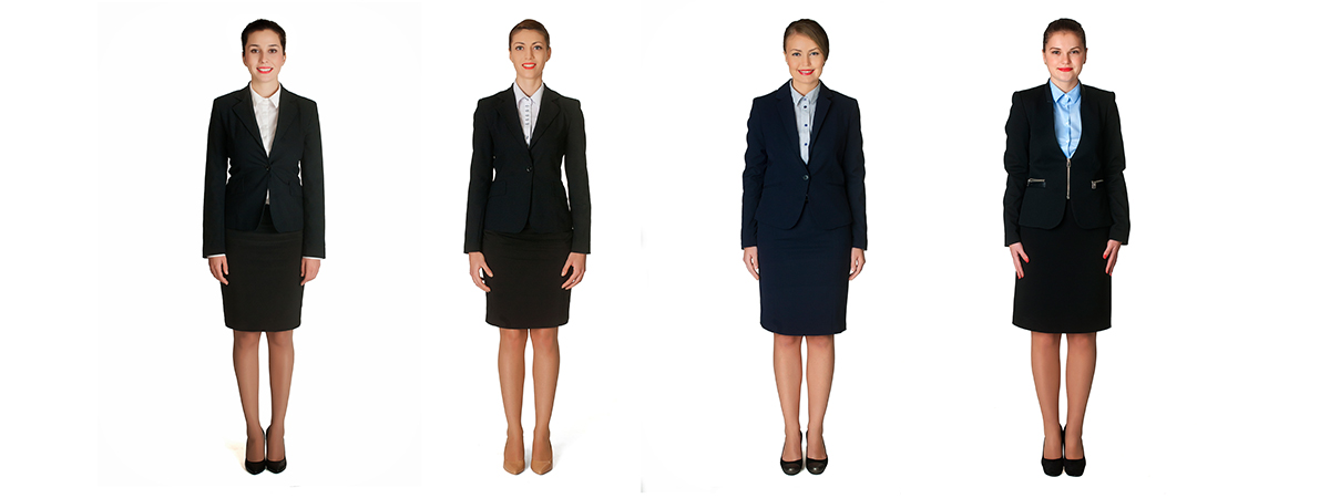 cabin crew outfit