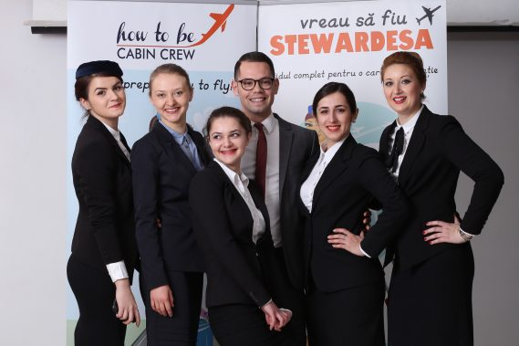 How to be cabin crew 4 day course - Bucharest